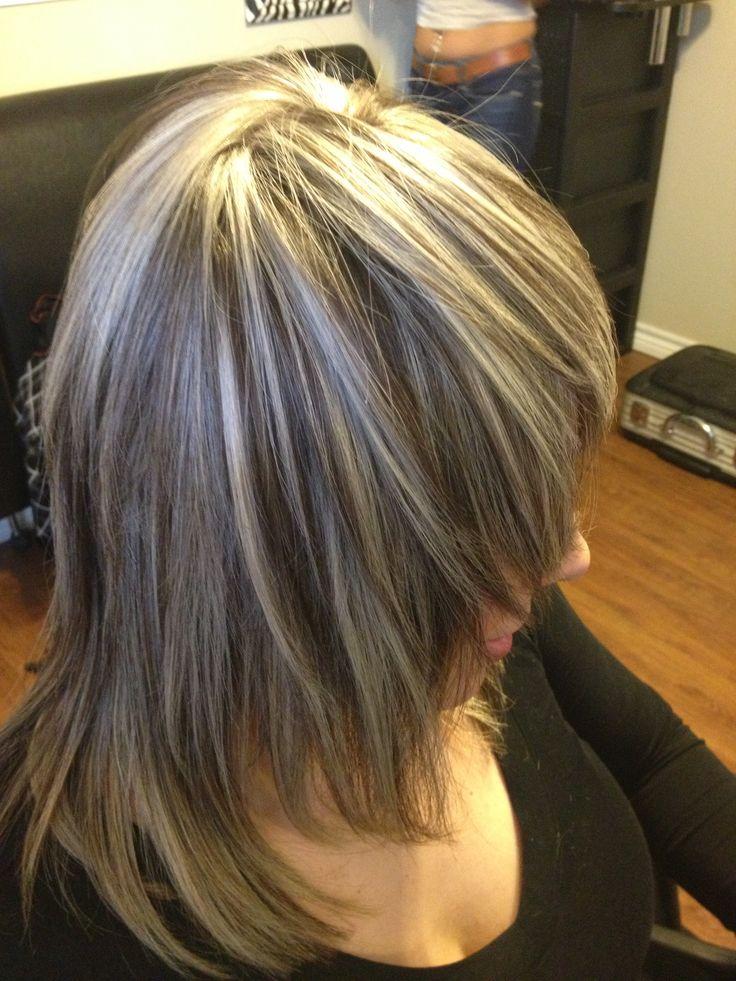 Ash Tone Thick Highlight Hair Pinterest Ash