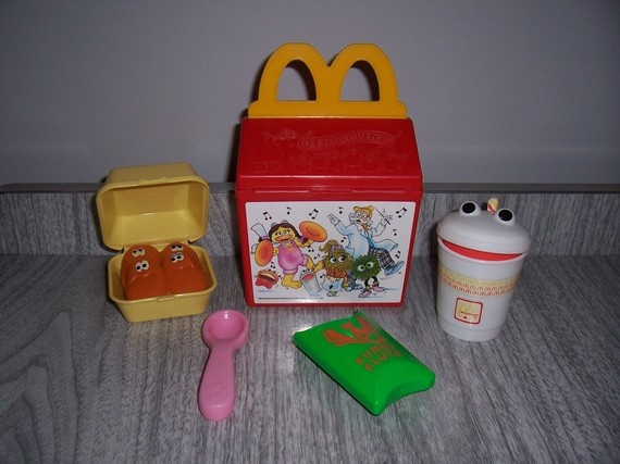Fisher price fun with food mcdonald 39 s happy meal set - Cuisine bilingue fisher price ...