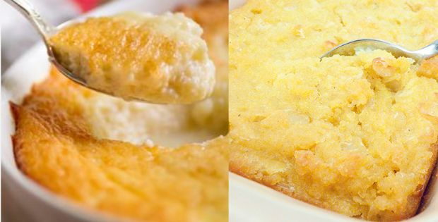 Sweetly Delightful Sweet Corn Pudding (Vegan, Gluten Free) http://inourishgently.com/sweet-corn-pudding-vegan/