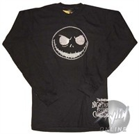Nightmare Before Christmas Long Sleeve Thermal Shirt. Nightmare Before Christmas Shirt This is an officially licensed Nightmare Before Christmas Long Sleeve 'long johns' shirt in which these Nightmare Before Christmas shirts have been screen printed with a Nightmare Before Christmas image. These Nightmare Before Christmas shirts are usually made from heavyweight preshrunk 7oz. cotton thermal shirt blanks. Check back often for some of our new Nightmare Before Christmas clothing and other…