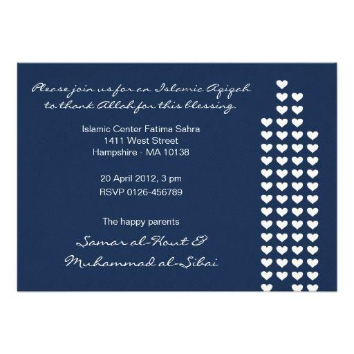 13 best aqiqah images on pinterest invitations shower ideas and islam aqiqah aqeeqah invitation boy bismillah stopboris Gallery