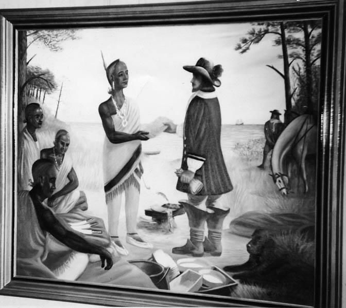 Lords of the Soil #history #genealogy #northcarolinapioneers  Lords of the SoilBy Jeannette Holland AustinPictured is George Durant receiving a deed from the chief of the Yeopim Indians. In 1653 Roger Green led a company across the wilderness from Nansemond in Virginia to the Chowan River and settled near Edenton. The settlement was a prosperous one and soon others followed. In 1662 George Durant purchased of the Yeopim Indians the neck of land situated on the North-side of Albemarle Sound…