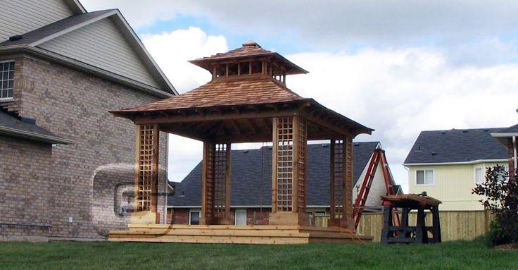 Garden tea house kits japanese tea house construction for Japanese gazebo plans