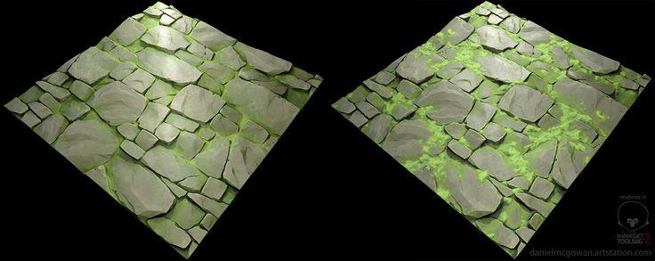 Stylized Tiling Texture, Daniel McGowan on ArtStation at…