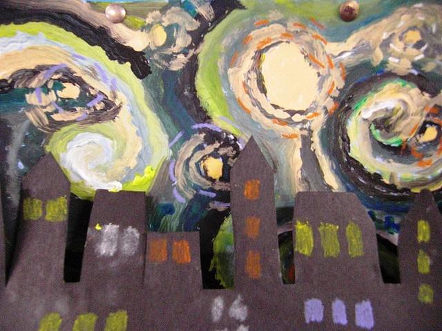 Starry night meets - Joan Eardly