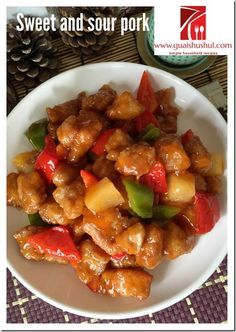 Classic Chinese Sweet And Sour Pork (咕噜肉,咕咾肉、古老肉) #kenneth_goh    #guaishushu #咕噜肉