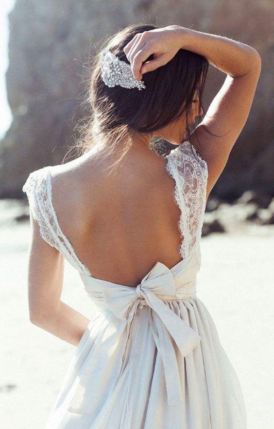 Dentelles virginales, voiles XXL ou jupons mini, Glamour a sélectionné pour vous 100 modèles de robes trouvées sur Pinterest pour vous donner des idées. Mariage bohême, rétro ou champêtre, tout est là.