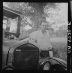 """""""Oklahoma migrant, Texas. An example of how they fall between the relief agencies. The father, aged thirty-five, is an intelligent fellow, a painter by trade. Advanced tuberculosis, victim of an occupational disease. Ineligible for WPA (Works Progress Administration), rated as totally disabled."""" Dorthea Lange, August 1936, LOC"""