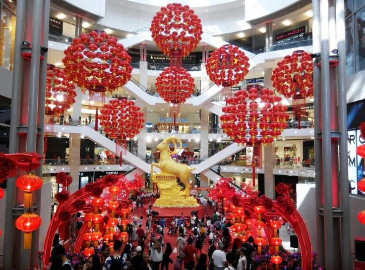 shopping mall lunar new year decoration tm vi google - Chinese Lunar New Year 2015