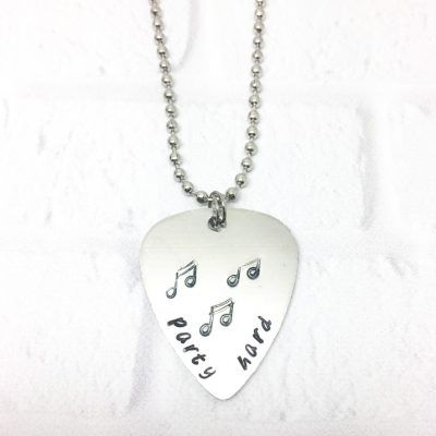 When simply nothing else will do, here's a personalised guitar pick just for you. Or maybe it'll make that perfect gift for a budding musician or music lover!