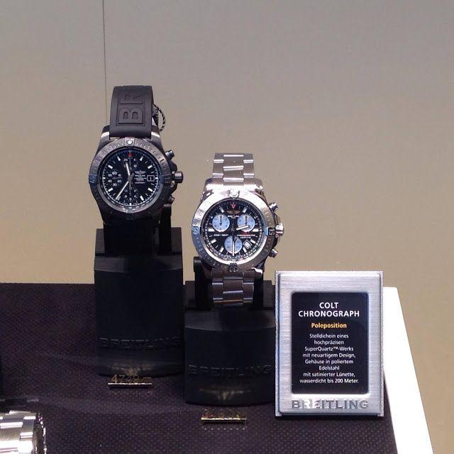 "Sportswatchblogger - Sportuhren Blog : ""News"" Breitling Colt Chronograph Automatic Blacks..."