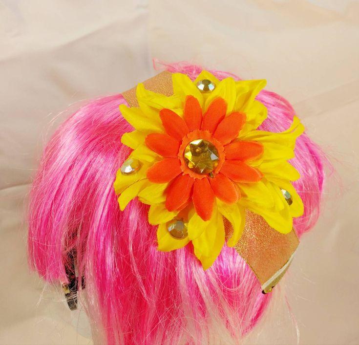 Flower Headband • Handmade • Summer • Spring • Costume • Festival https://www.etsy.com/listing/596883147/flower-headband-handmade-summer-spring?utm_campaign=crowdfire&utm_content=crowdfire&utm_medium=social&utm_source=pinterest