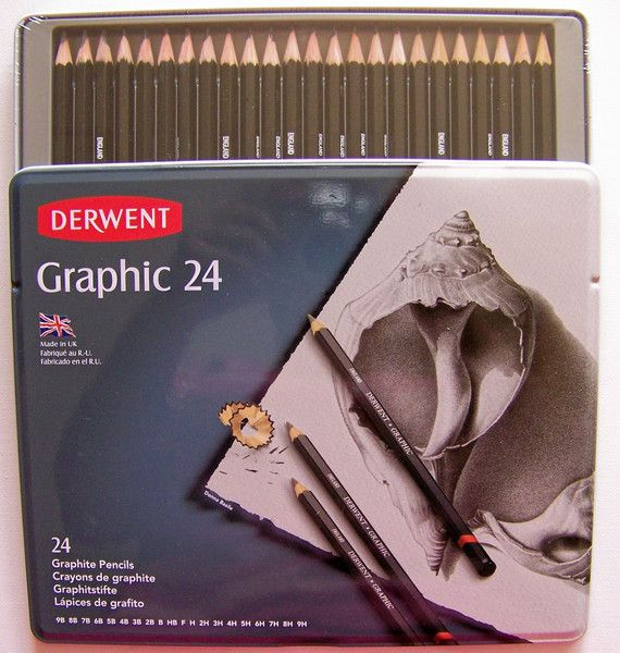 Derwent Graphic Pencils – A Pretty Talent