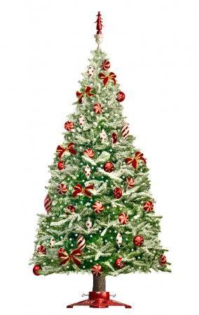 Pre Lit Rotating Artificial Christmas Trees