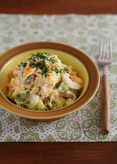 コツを押さえて、美味しいポテトサラダを食卓に。基本の作り方とプロのレシピ。 | キナリノ