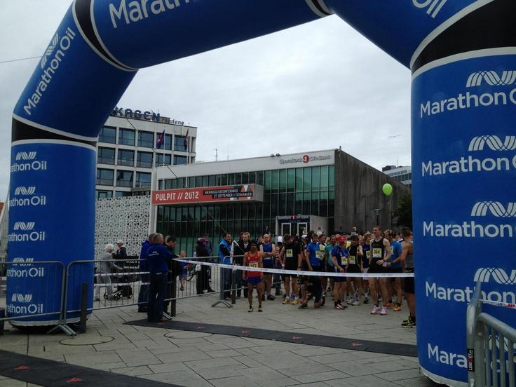 Målportal Marathon oil Kunde: Marathon Oil. Reklameprodukt for å synliggjøre arrangør og/eller sponsor. 6 x 4,5 meter.