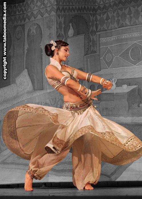 "Bellydance, or ""Raks Sharki,"" is evidently one of the oldest dances in existence, having origins in the Middle East."