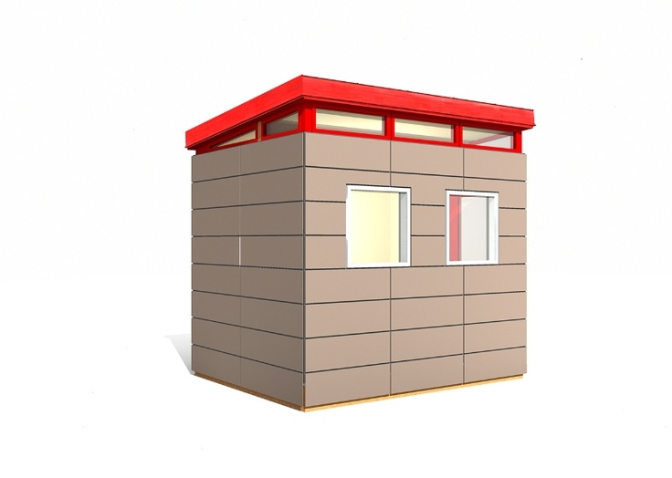 51 best images about tiny house with shed roof on for Backyard office kit