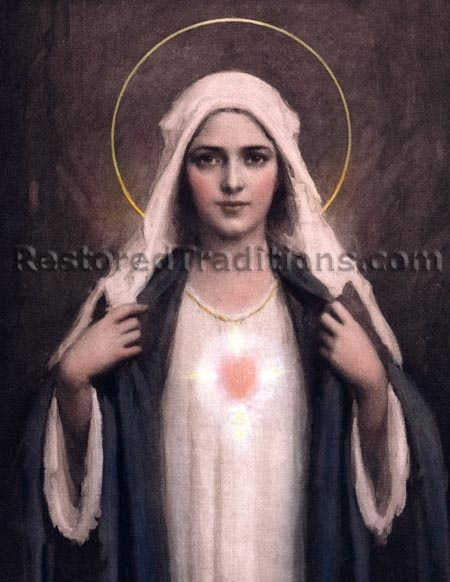 Chambers Immuculate Heart 5: Immacul Heart, Blessed Mothers, Mothers Mary, Image, Catholicism Our Mothers Saint, Catholic Art, Sacred Heart, Immucul Heart, Role Models