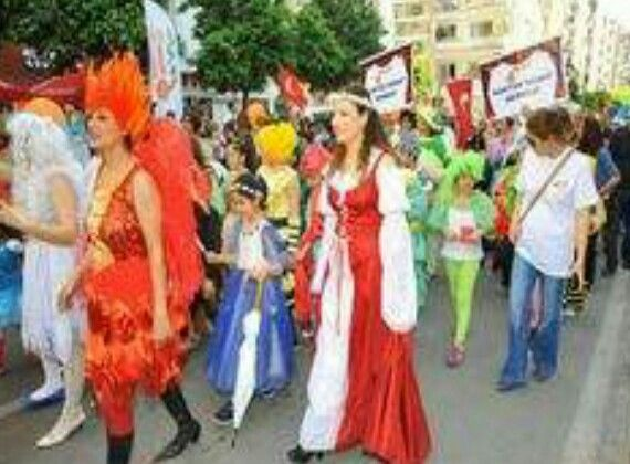 April 4-2015..Orange blossom Carnival in Adana / Turkey