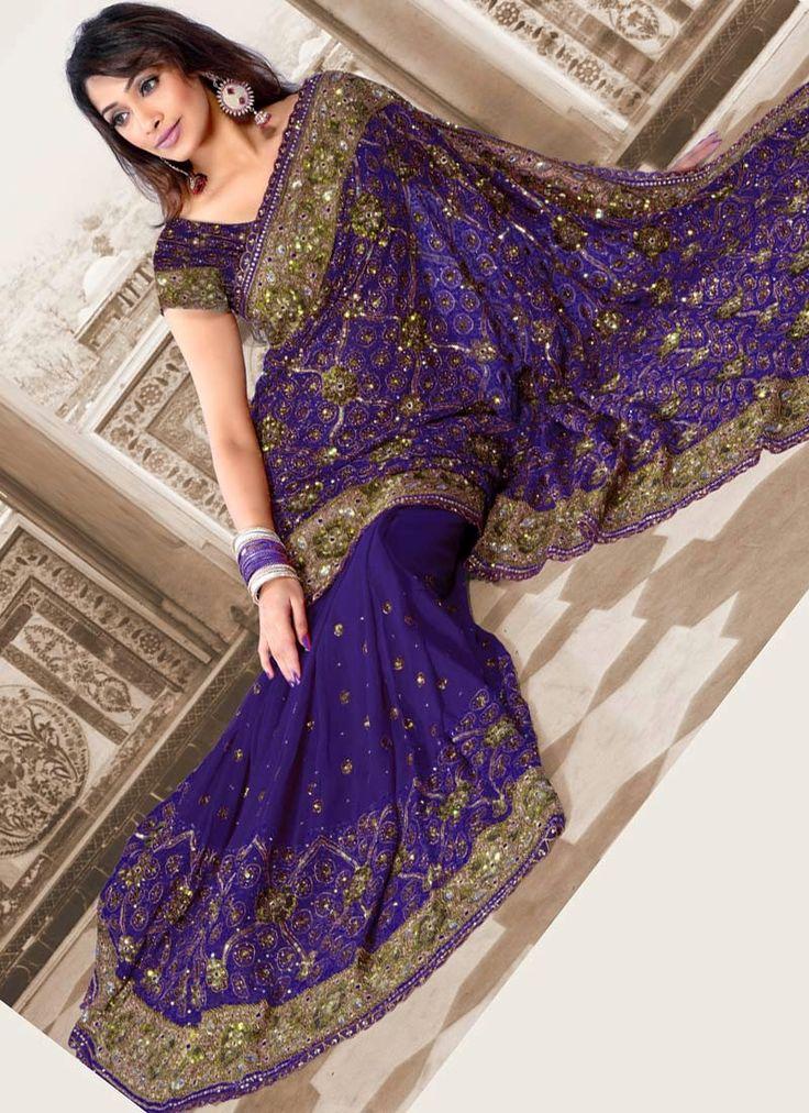Indian Wedding Party Sarees Latest Saree Designs