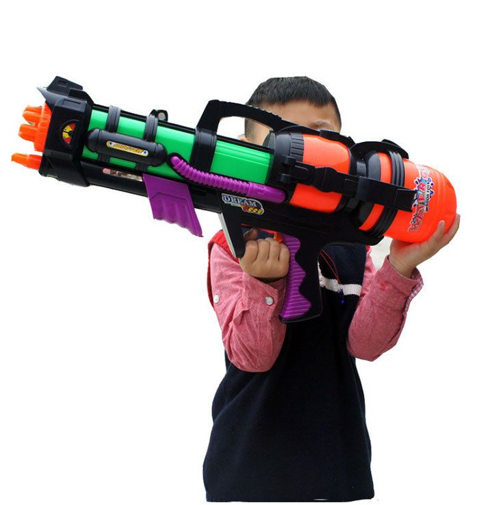 Игрушечный Пистолет Новое Прибытие 59 см Большой Размер Высокого Давления Воды пистолет Пляжные Игрушки Для Детей И Взрослых Груза падения HT389