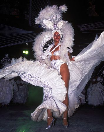Cuban dancer performs at the Tropicana Cabaret in Havana