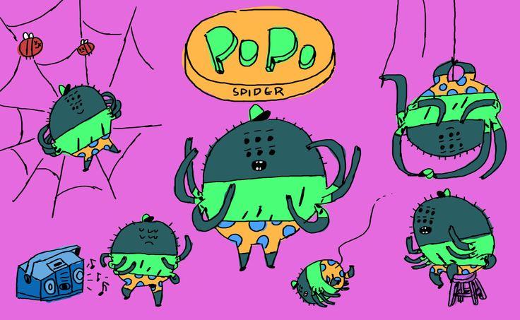 POPO - dancing spider