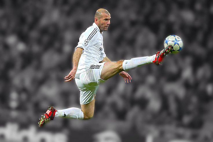 La magia de Zinedine Zidane