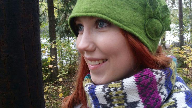 Autumn hat, Suppilo-model