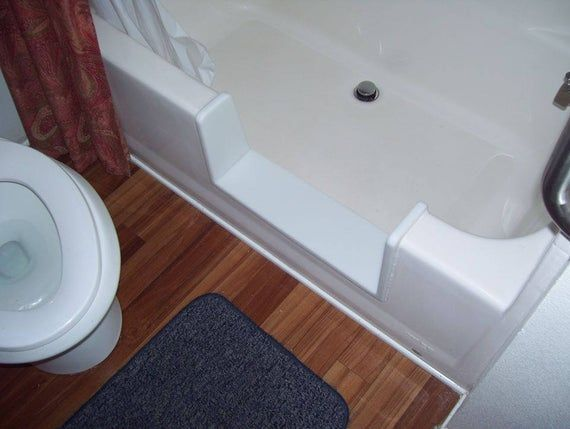 Custom Standard Bathtub To Walk In Shower Conversion Kit With