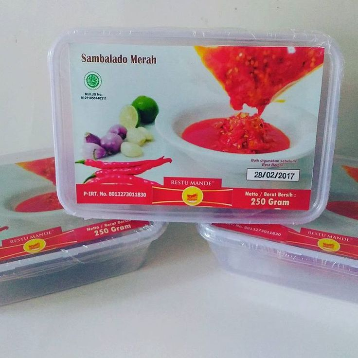 jual sambalado merah restumande di bsd tangerang