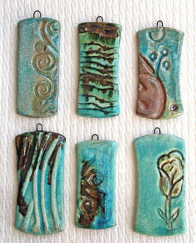https://flic.kr/p/64XrU7 | Available as of 3-2-09 LPA 002 raku pendants | Raku Fired Ceramic by Lisa Peters pedants