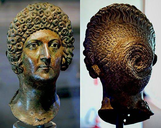 Romano Impero: ACCONCIATURE ROMANE