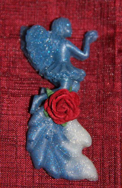 Magnete handmade FATINA colore blu