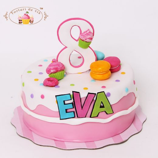 Tort candy pentru Eva