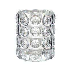 IKEA - FLEST, Tealight holder, The clear glass reflects and enhances the warm glow of the candle flame.