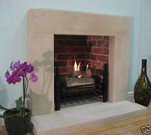 The Radcliffe Stone Fireplace / Fire Surround (Without Hearth)