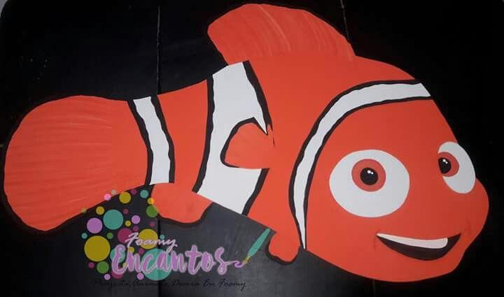 Nemo en foamy o Goma eva