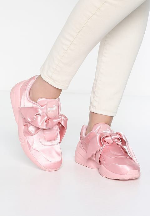 promo code 668c1 064c6 The Puma Fenty by Rihanna Bow Sneaker in Silver Pink ...