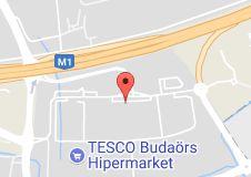 TESCO Online Bevásárlás- Átvételi Pont térképe