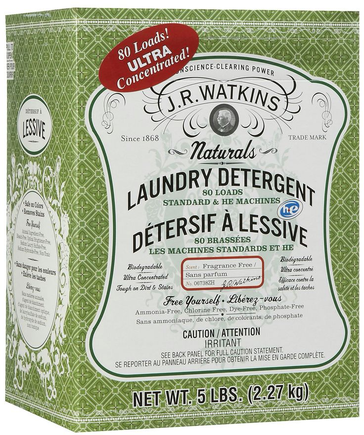 Fragrance free laundry detergent. Amazing!   JR Watkins has amazing apothecary products that have lasted through generations. Quality health, beauty, bath, and kitchen products that stand the test of time.   Love that I can make money from home enjoying products that I love!