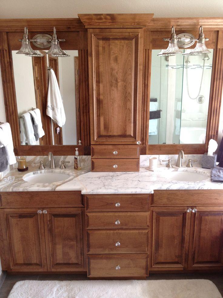 Mirrors Over Double Vanities Custom 80inch Vanity And