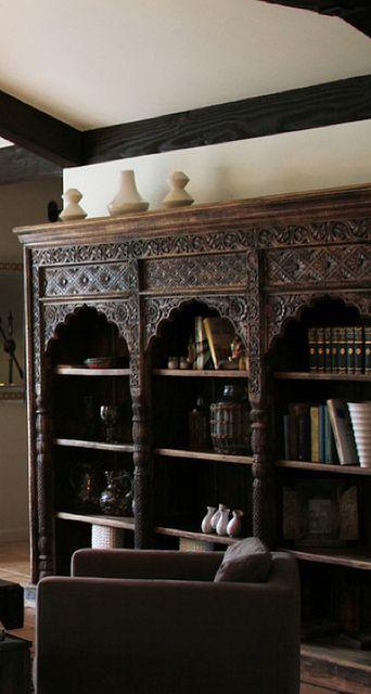 Moroccan bookcase
