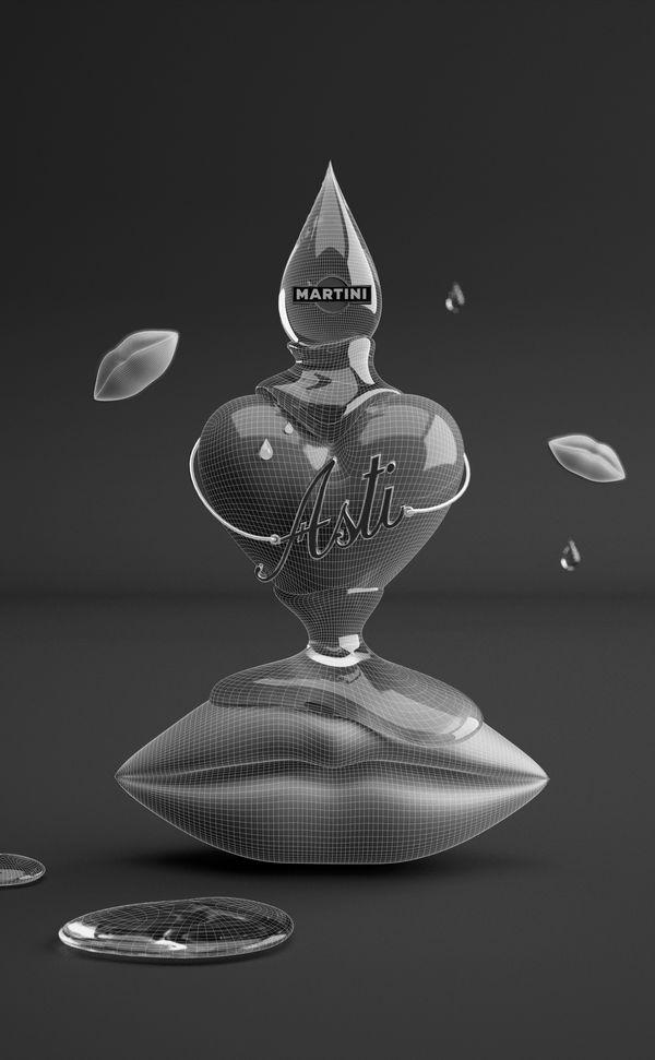 Asti Martini Tender by Dmitry Gelishvili, via Behance