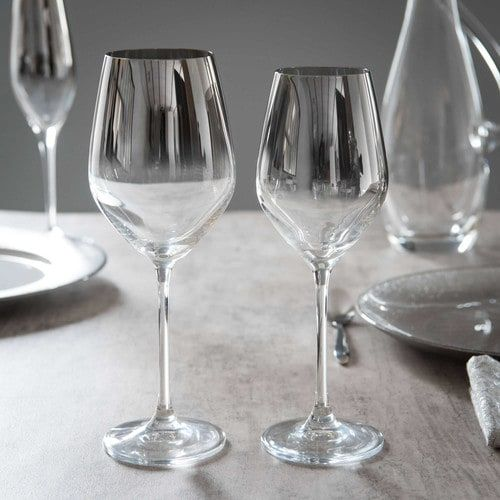 top from maisons du monde glass harmonie wine glass with flute a champagne maison du monde. Black Bedroom Furniture Sets. Home Design Ideas