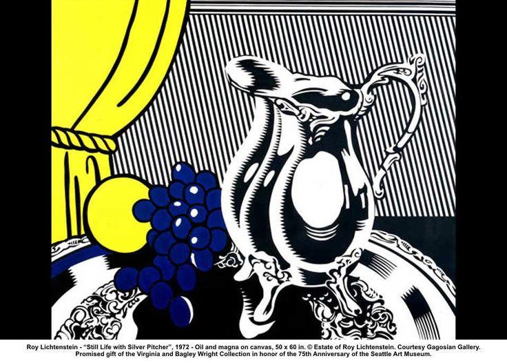 roy-lichtenstein-still-life-silver-pitcher.jpg (956×684)