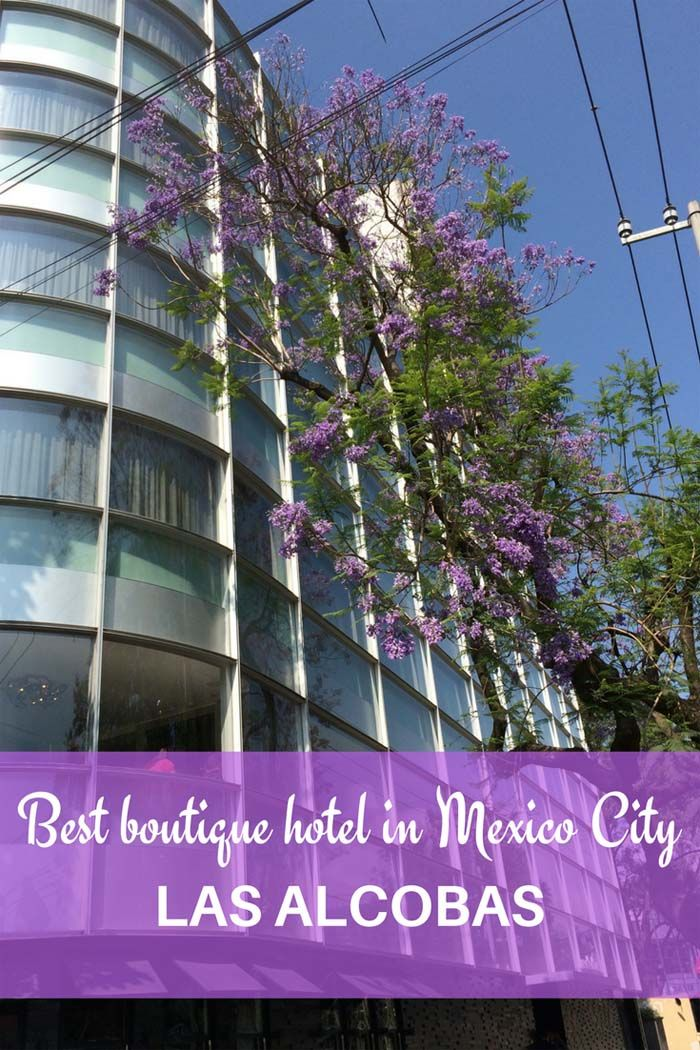 Las Alcobas: Best Boutique Hotel in #MexicoCity | Getting On Travel #boutiquehotels