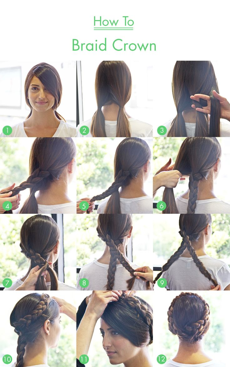 How To: Braid Crown... It'll be another 1000 years before my hair is long enough to even do this..