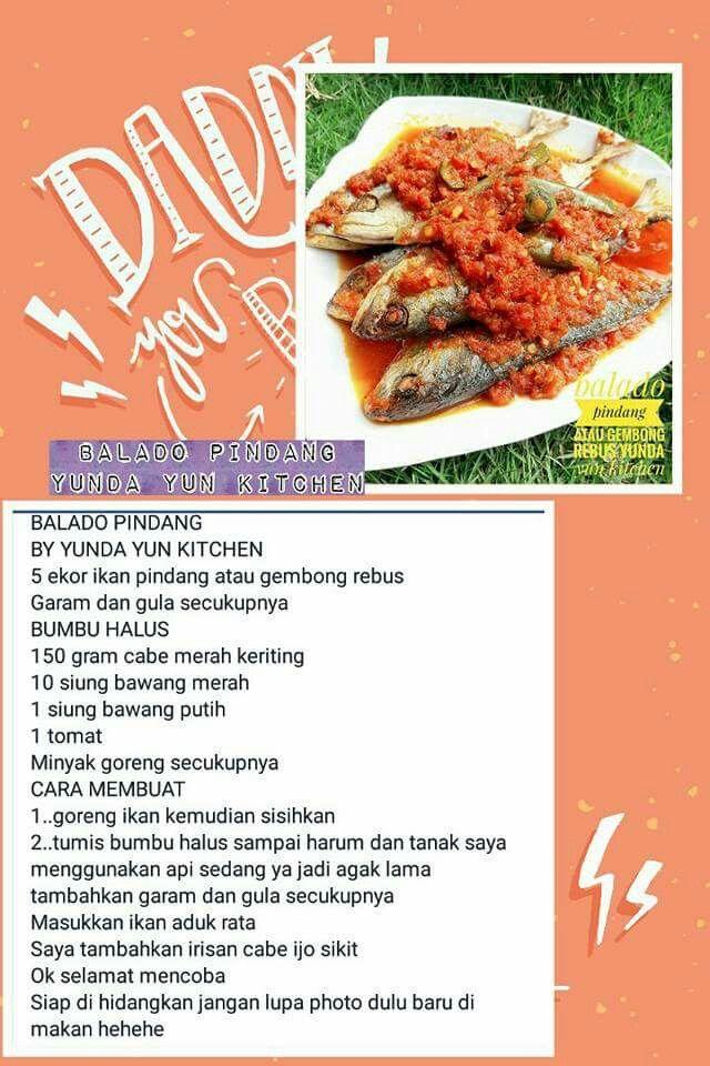 Pin Oleh Dwi Wahyu Di Resep Yunda Yun Resep Masakan Resep Makanan Masakan